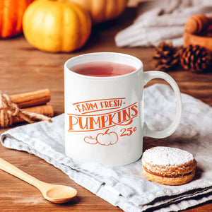 Farm Fresh Pumpkins Mug