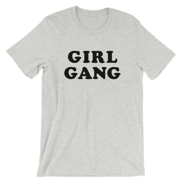 Girl Gang T-Shirt (Groovy Black Text)