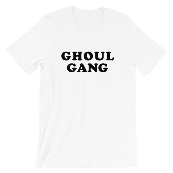 Ghoul Gang T-Shirt (Groovy Black Text)