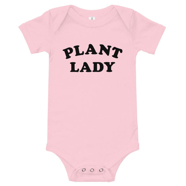 Plant Lady Onesie (Black Text)