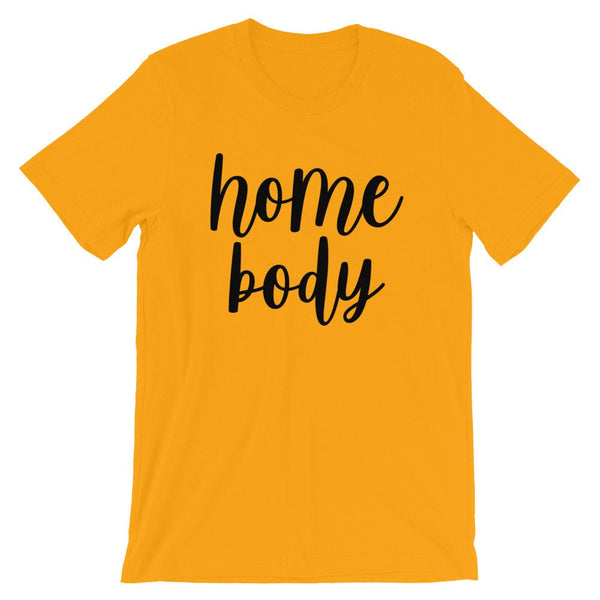 Homebody T-Shirt (Handwritten Black Text)