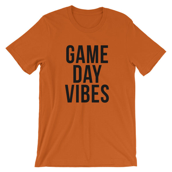 Game Day Vibes T-Shirt (Black Text)