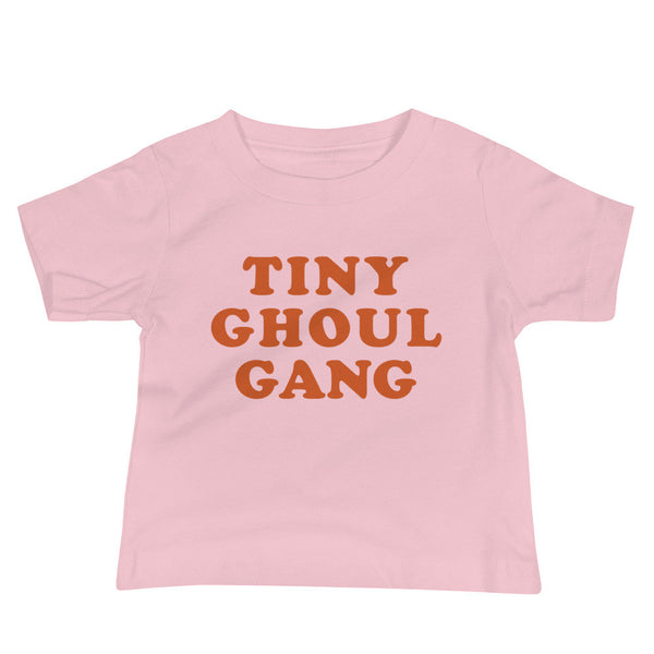 Tiny Ghoul Gang Baby T-Shirt (Orange Text)
