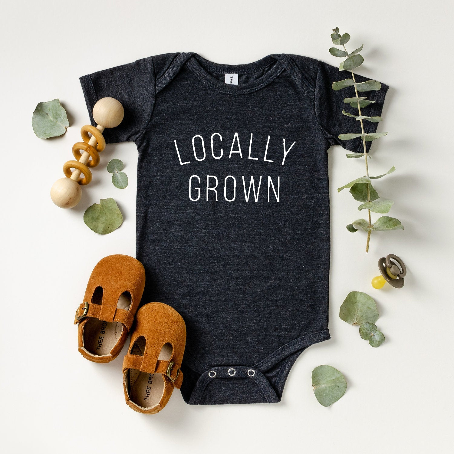Locally Grown Onesie