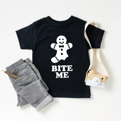 Bite Me Gingerbread Toddler T-Shirt