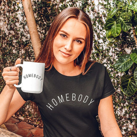 Homebody Mug (Curved Text)
