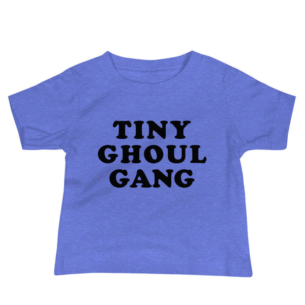 Tiny Ghoul Gang Baby T-Shirt (Black Text)