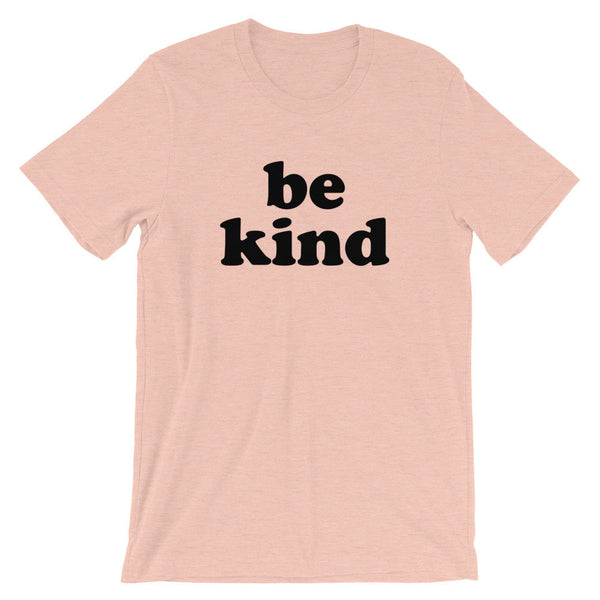 Be Kind (Black Groovy Text) T-Shirt