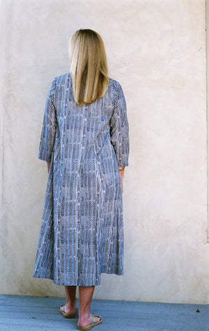 Mes Filles - The Sadie Dress in Blue Arrow Print. Shop our latest collection online now.