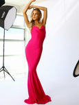 House of Ezis Hot Pink Mermaid