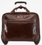 Jekyll & Hide Oxford Leather Carry on Business Trolley Tobacco