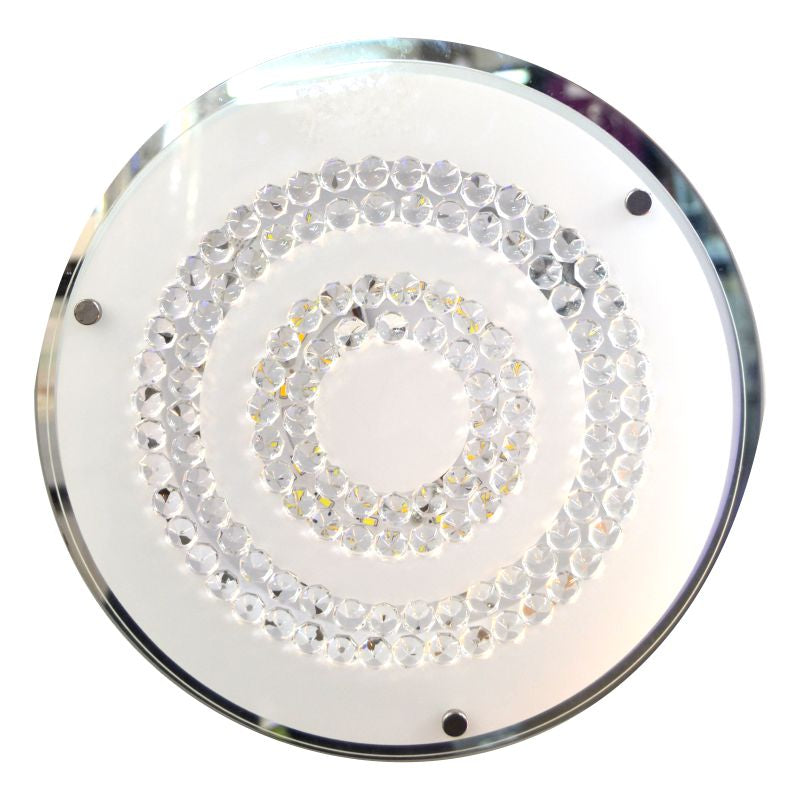Glass Ceiling Light Fitting 0030-R