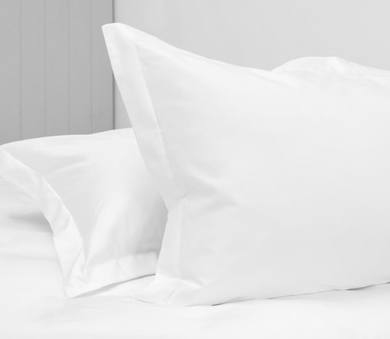 Pillow Case Set White 1000 Thread Count