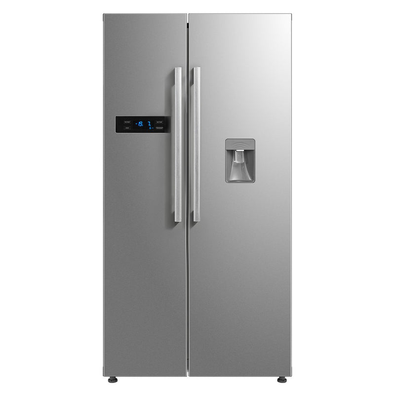 Midea HC-683WEN (ESNY) Side by Side Fridge with water dispenser