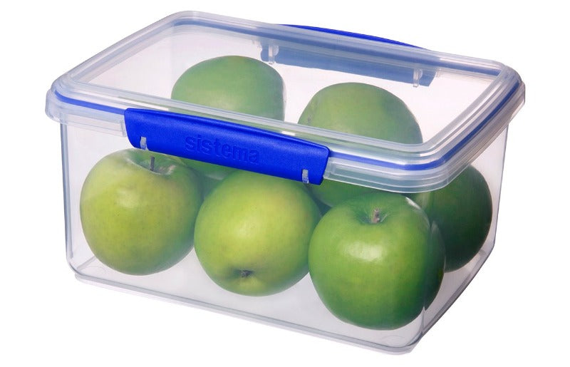 Sistema Rectangular Lunch box 3L