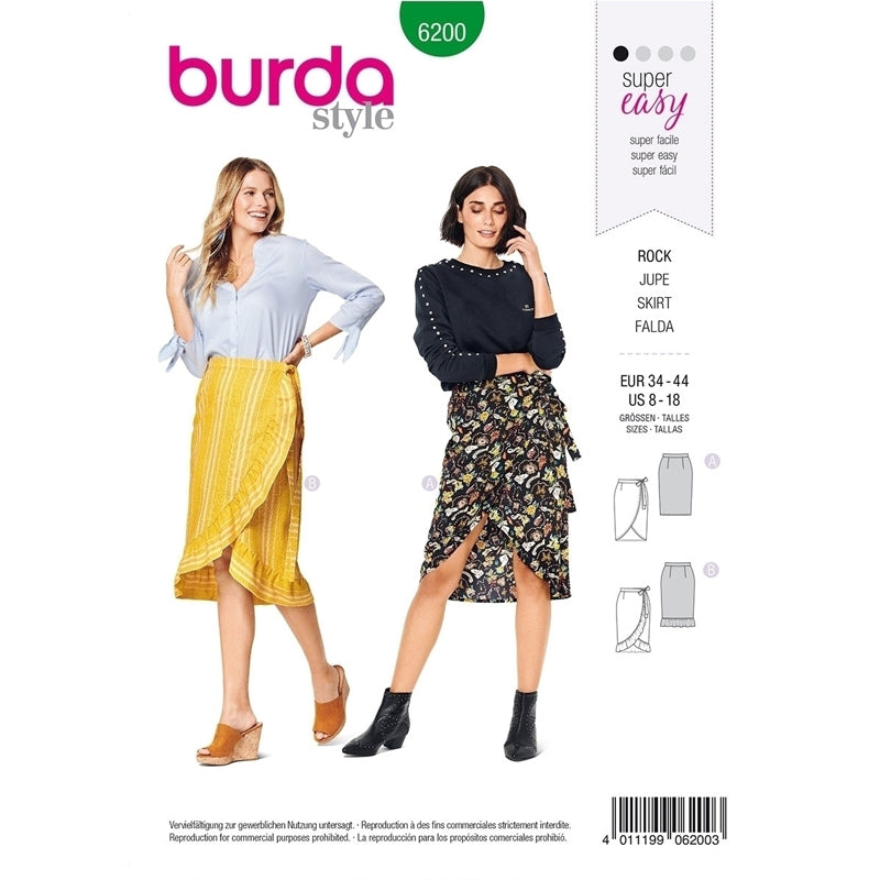 Patterns Burda 6200