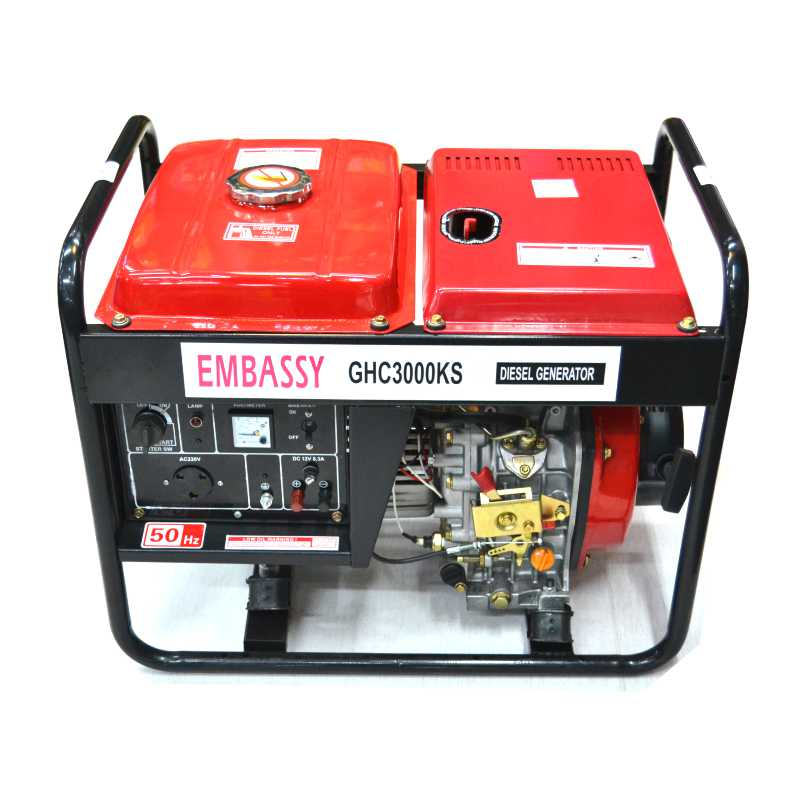 Generator Diesel 3,5KW Key Start GHC3000KS