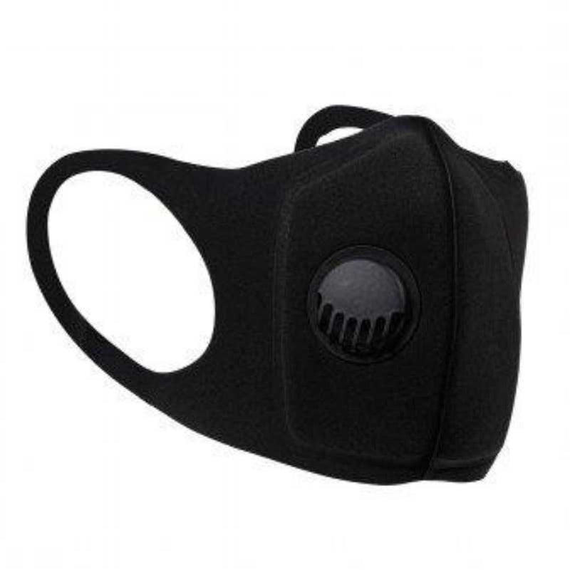 Neoprene Respiratory face Mask with valve