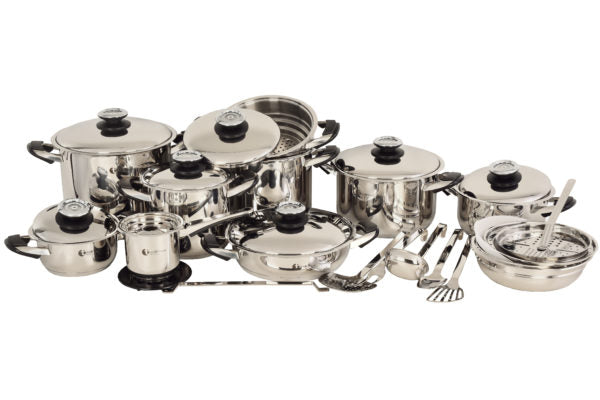 Tissoli 32 Piece Plus 18/10 Stainless Steel Pot Set