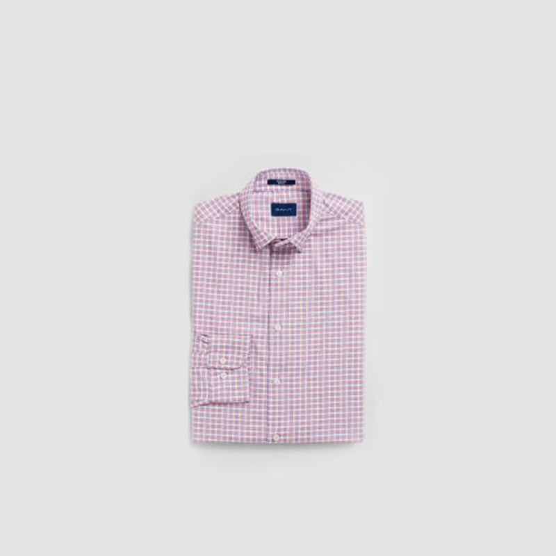 Men's Gant T-shirt Oxford Gingham