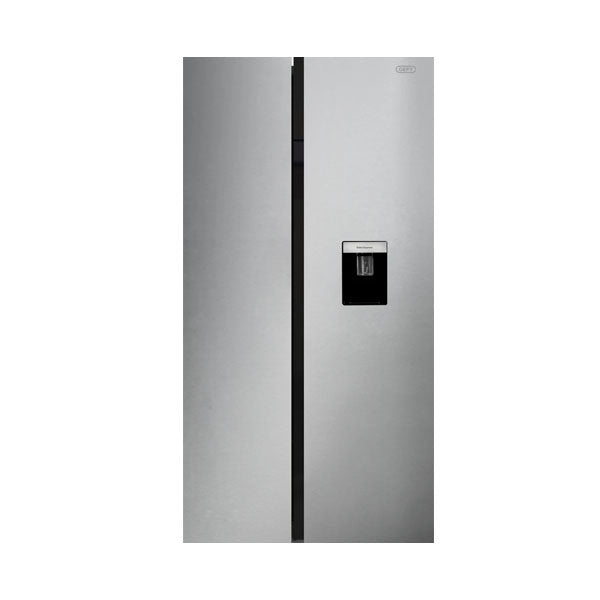 Defy 555L Metallic Side by Side Fridge | mhcworld.co.za