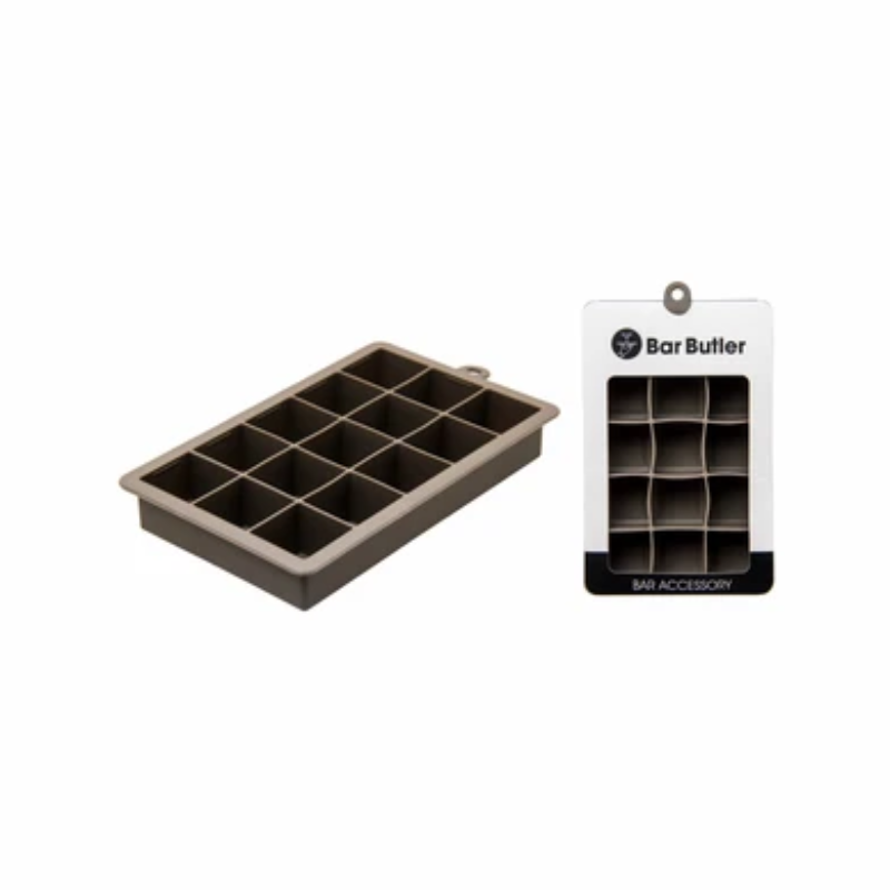 Bar ware Butler Grey Silicone Ice Cube Tray 15