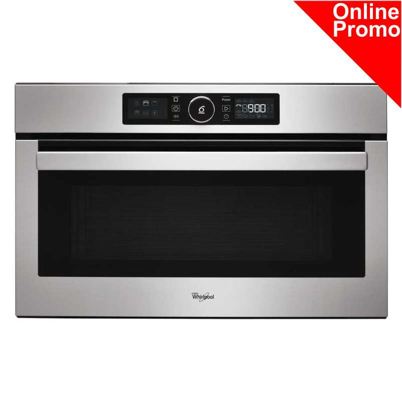Whirlpool AMW 730/IX Absolute Built-In Microwave in Stainless Steel