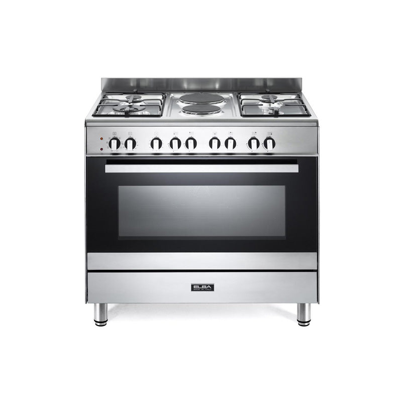 Elba 90 cm Classic 01/9CX727N 4 Gas 2 Electric/ Electric Oven