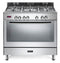 ELBA Fusion 01/9FX827N StAinless Steel Gas Stove / Self Cleaning Electric Oven