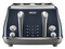 Delonghi Icona  Capitals CTOC4003.BL Toaster Blue 4SLICE