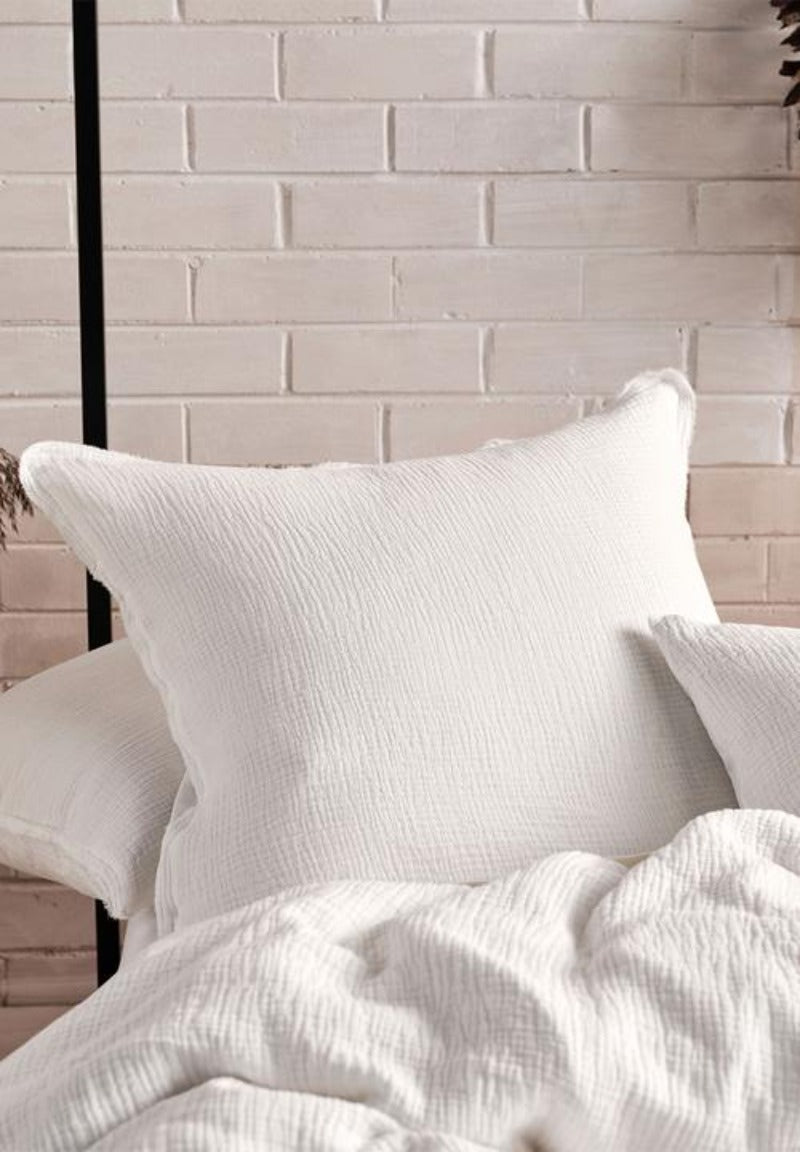 Eliysian White Duvet Cover Set