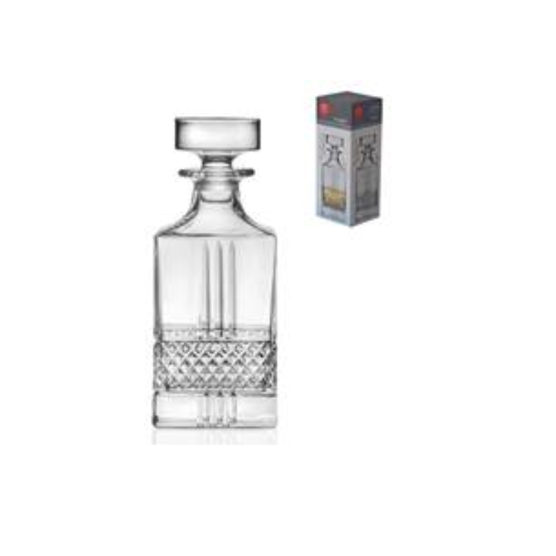 RCR Brillante Square Decanter 850ML