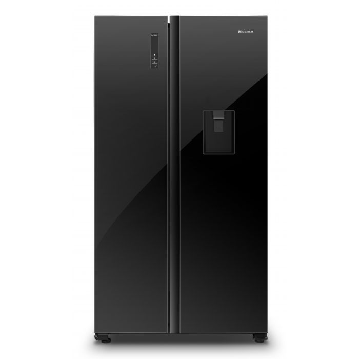 Hisense 514L Side By Side Fridge With Water Dispenser | mhcworld.co.za