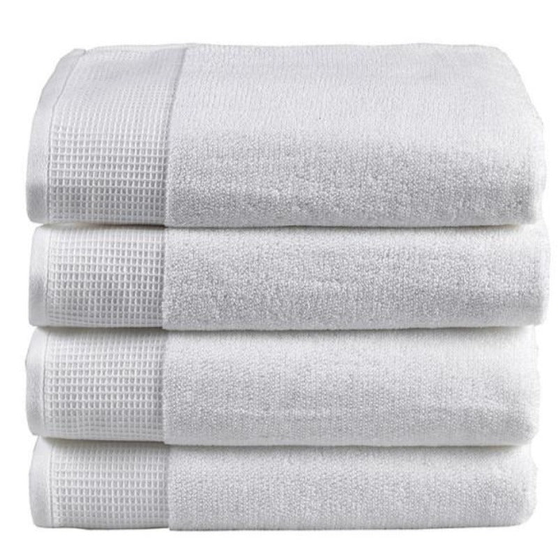 Plush White Towel Collection