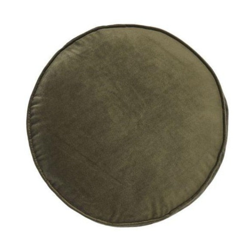 Linen House Toro Scatter Cushion Olive 43 cm Round