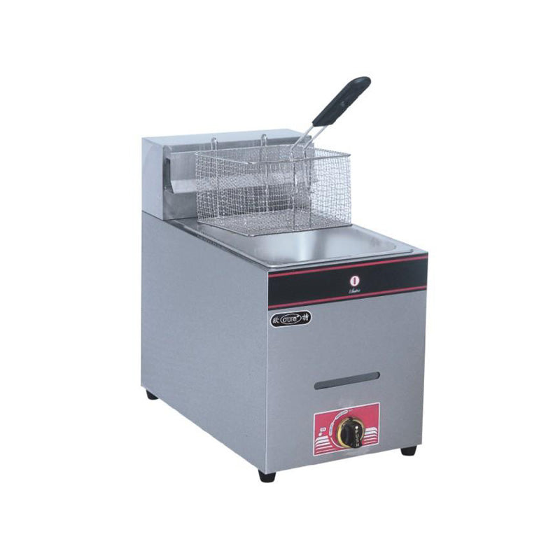Single Gas Deep Fryer