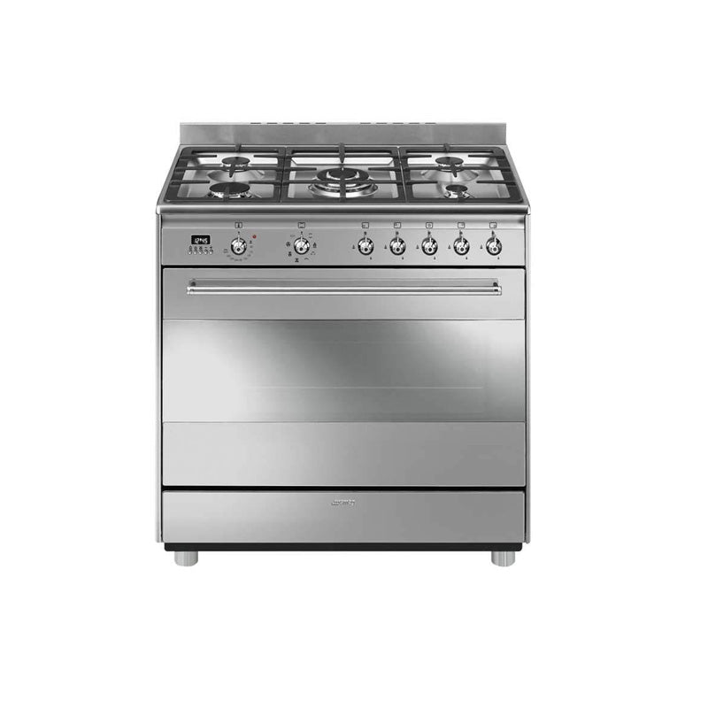 Smeg SSA91MAX9 Electric Gas Stove 5 Burner