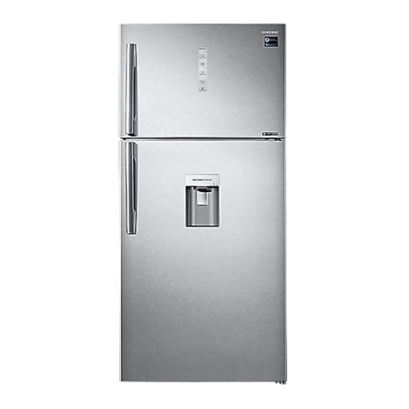 Samsung  618L Silver  with Water Dispenser Top Freezer Refrigerator RT62K7110SL