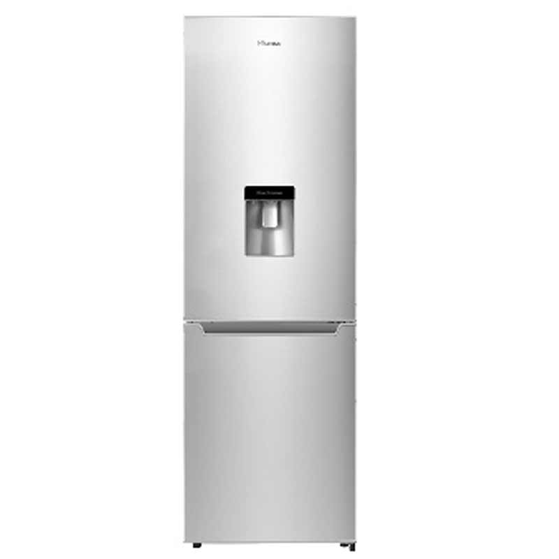 Hisense 228L Metallic  Fridge Freezer with Water Dispenser  H299BME-WD