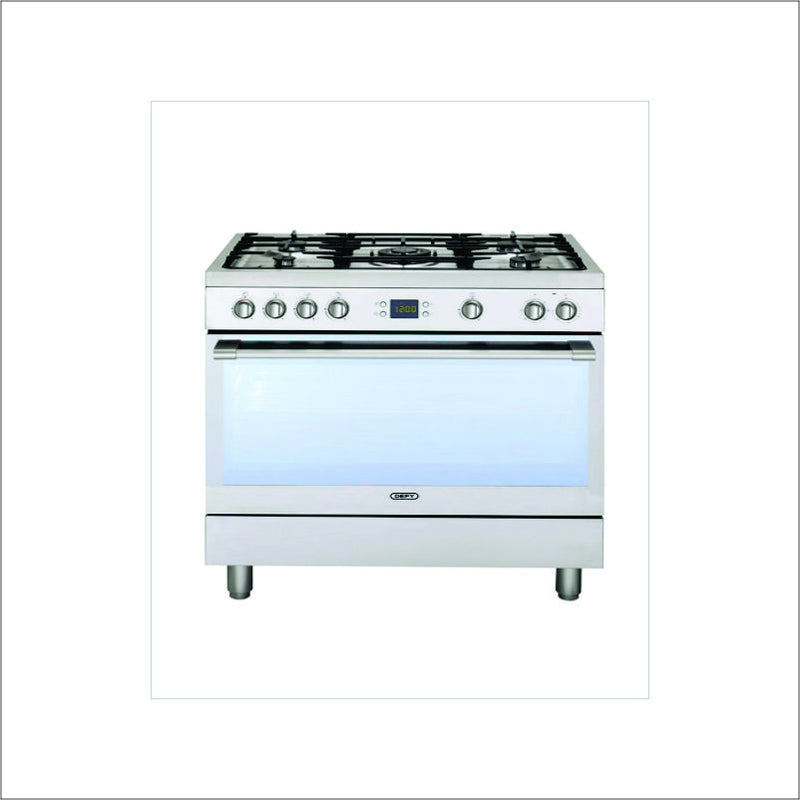 DEFY DGS161 5 Burner Stainless Steel Gas Multifunction Stove