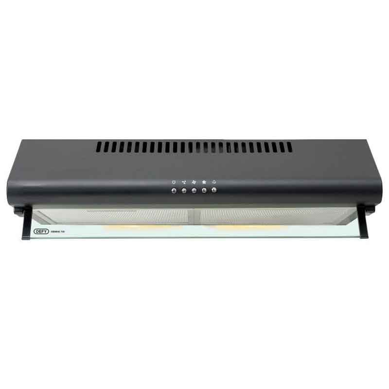 DEFY Gemini 700mm Cooker Hood DCH293 Black