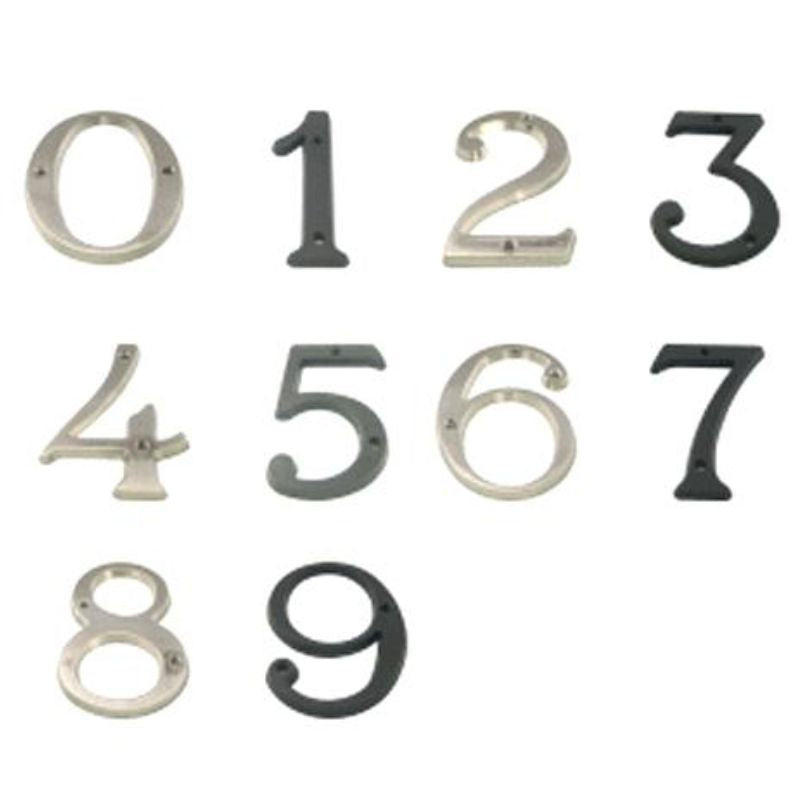 Numbers brass large