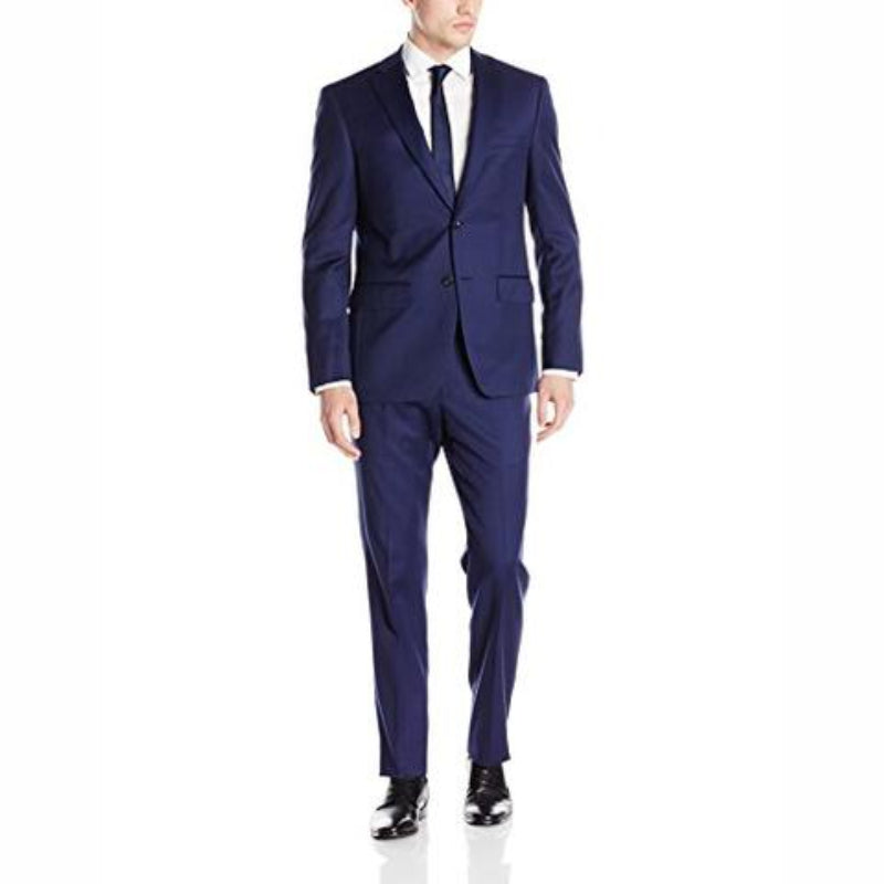 Carlo G Suit Navy Blue