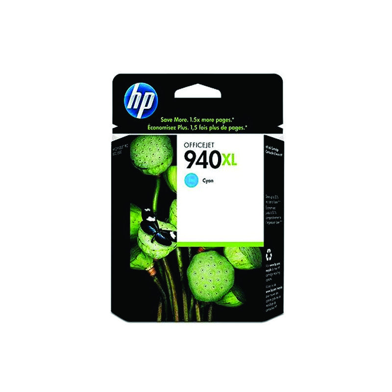 HP 940XL Cyan Cartridge C4907A