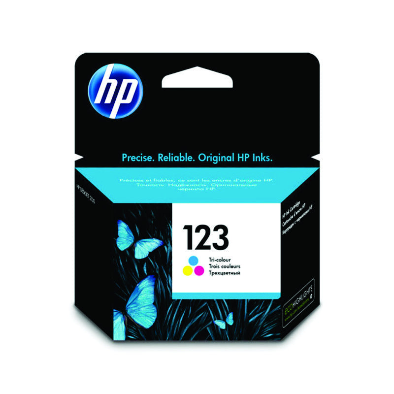 HP NO.123 TRI Colour Ink