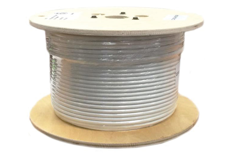 Cable RG6 White 100M