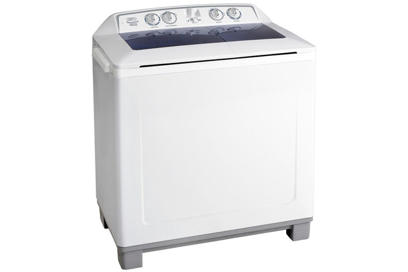 Defy DTT164 13kg White Twin Tub Washing Machine