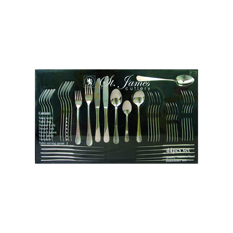 44 Piece Oxford Cutlery Set