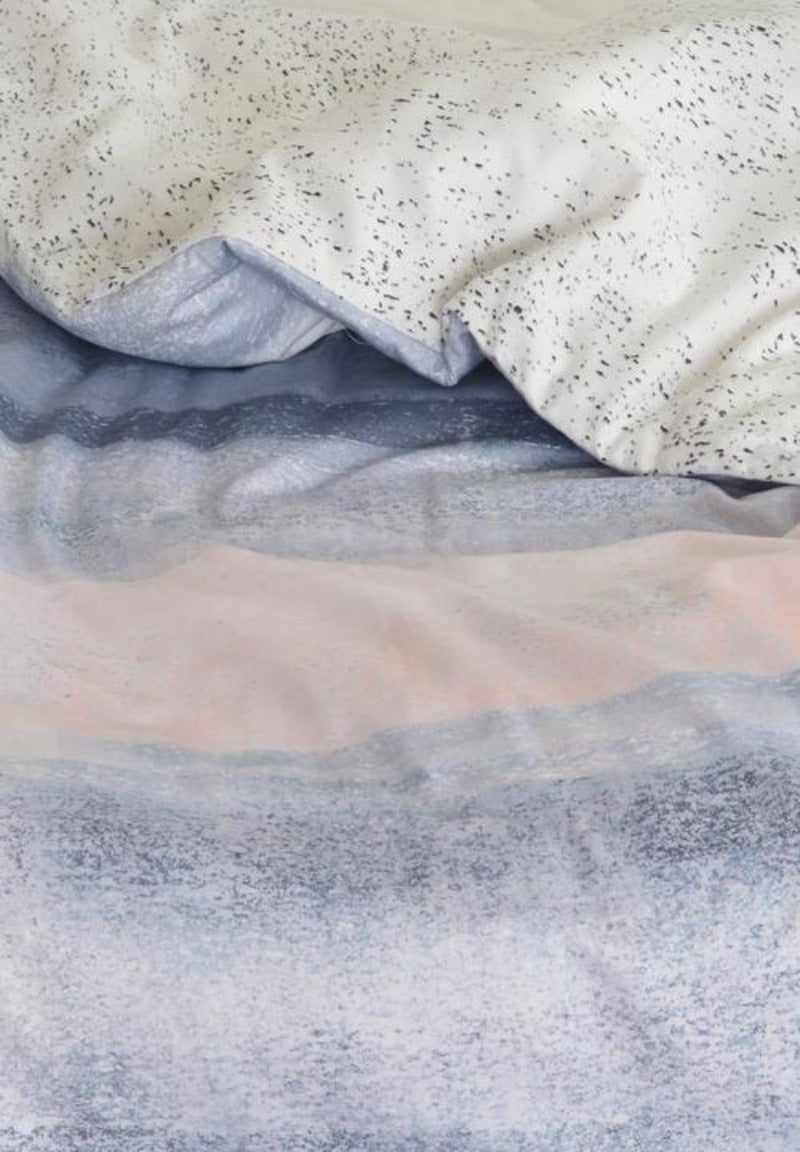 Linen House Peach Kezia Duvet Cover Set
