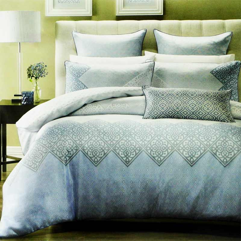 Linen House Blue Alia Duvet Cover Set